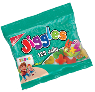 Hilal Foods Jiggles 123 Jelly