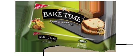 Hilal Foods Bake Time Fruit Cake Slices