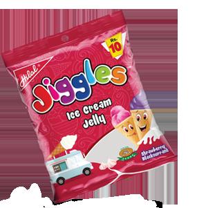 Hilal Foods Jiggles Ice Cream Jelly
