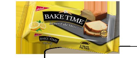 Hilal Foods Bake Time Lemon Cake Slices