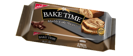 Hilal Foods Bake Time Marble Cake Slices