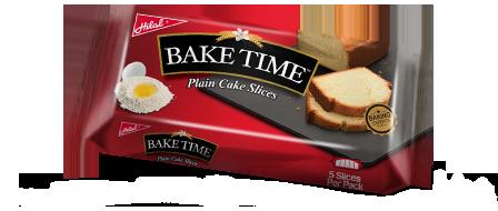 Hilal Foods Bake Time Plain Cake Slices