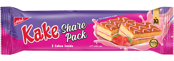 Hilal Foods Share Pack Strawberry Kake