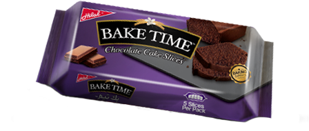 Hilal Foods Bake Time Chocolate Cake Slices