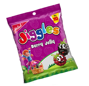 Hilal Foods Jiggles Berry Jelly