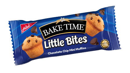 Hilal Foods Bake Time Little Bites Chocolate Chip Mini Muffins