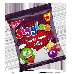 Hilal Foods Jiggles Super Sour Jelly